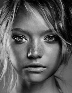 Fille Noir Et Blanc : portait fille noir et blanc zakstudio ~ Melissatoandfro.com Idées de Décoration