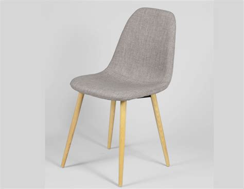 chaise h et h chaise grise scandinave