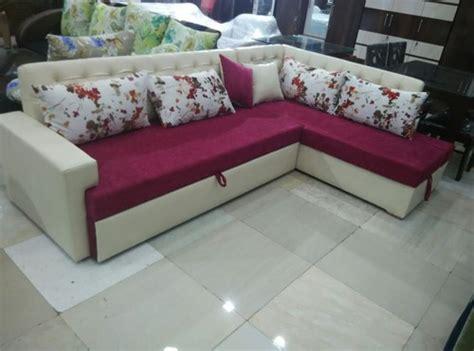 L Shape Sofa Beds by L Shape Sofa Bed With Storage L Shape एल श प
