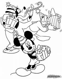 Mickey Mouse U0026 Friends Coloring Pages 5 Disneyu002639s World