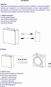 Divoom Technology Aurabox Bluetooth Speaker User Manual