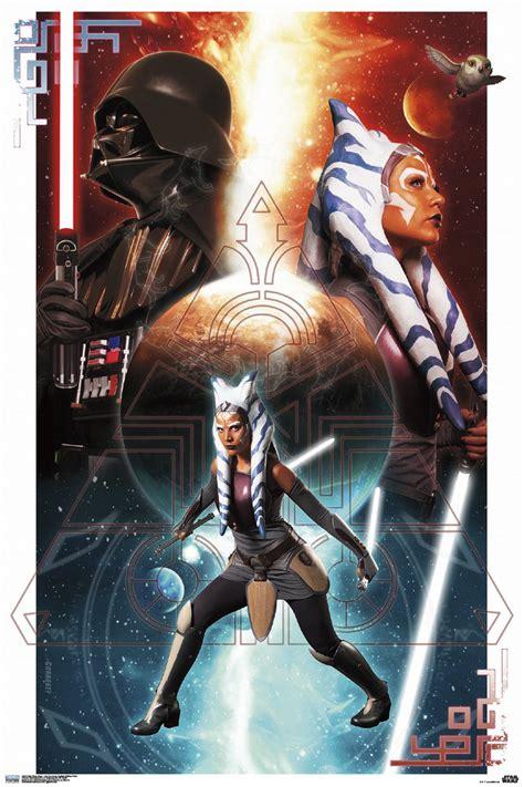 star wars official poster reveals life  ahsoka tano
