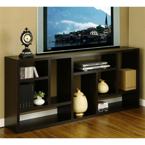 Tv Stand And Bookcase by Furniture Of America Espresso Multi Purpose 3 In 1 Display