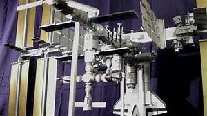 1:100 scale model of International Space Station (ISS ...