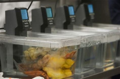 The rise of sous vide in restaurant food preparation