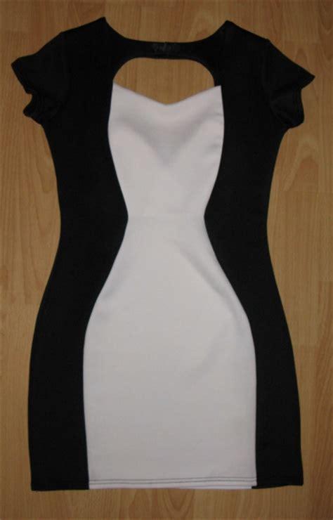club  schlankmacher kleid  schwarz weiss kleiderkorbde