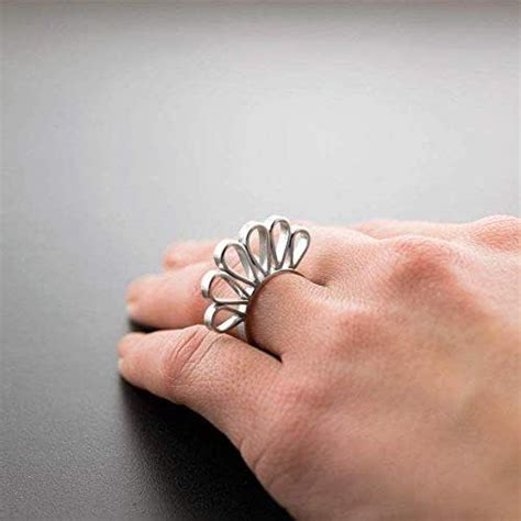 amazoncom unusual ring gift sterling silver ring
