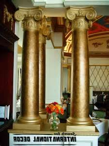decorative columns interior