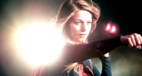 Over Screen Captures From The New Supergirl Trailer