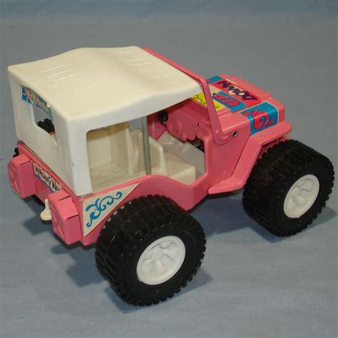 pink toy jeep 1968 vintage louis marx pressed steel pink 4x4 jeep