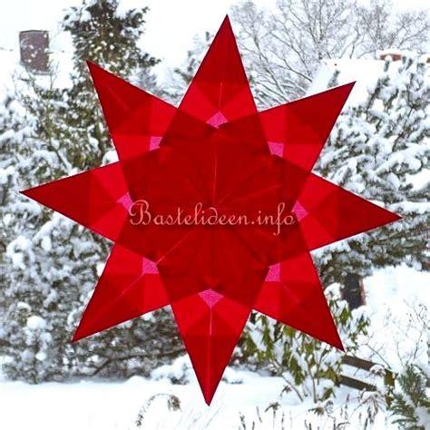 weihnachtsbasteln mit kindern vorlagen basteln mit kindern weihnachten weihnachtsbasteleien gefaltete sterne