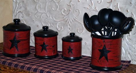 Primitive Kitchen Canister Sets by 13 Best Images About Primitive Canister Sets On