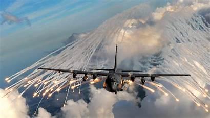 Gunship Ac 130 Flares C130 Field Weapons