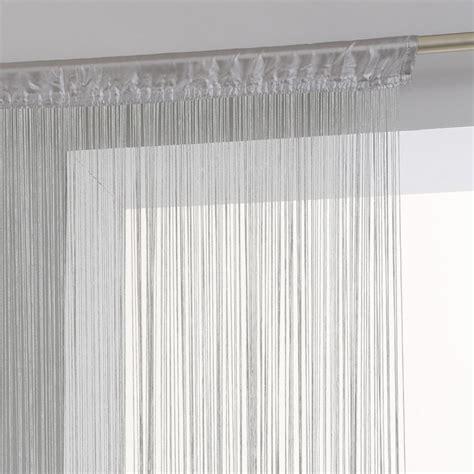 rideau de fil gris rideau de fil gris 28 images rideau fil 90 x 240 cm jaune achat vente rideau voilage