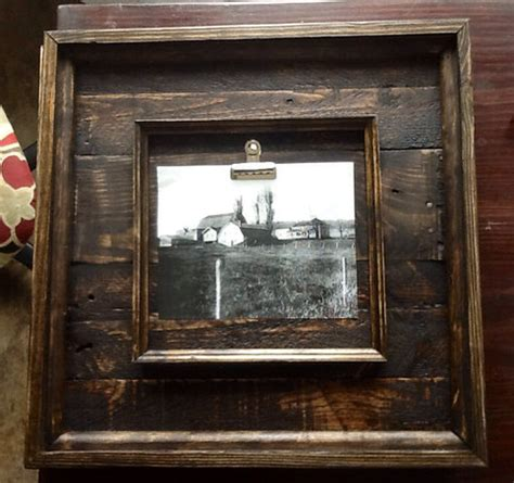 barn wood picture frames 16x16 rustic barnwood picture frames made from reclaimed