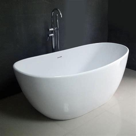 soaking tub emy 64 quot soaking bathtub free shipping modern bathroom