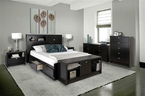 35697 platform bed with storage series 9 storage platform bed black