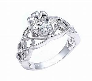 Zales diamond engagement rings the diamond claddagh and for Claddagh wedding rings with diamonds