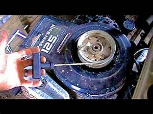 How To  Cheap  Easy Pull Start For Riding Mowers