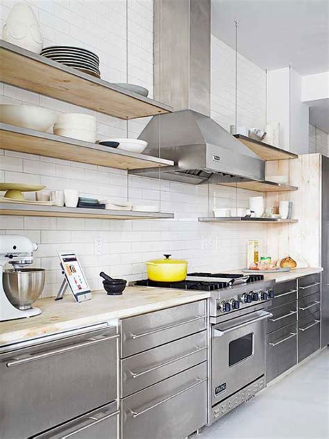 kitchen stainless steel cabinets 15 modern kitchen cabinets for your ultra contemporary home 6123