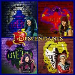 Descendants 2 Disney Characters