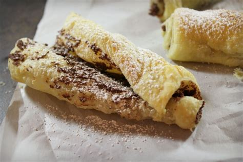nutella puff pastries dinner