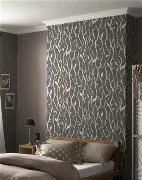 idee deco papier peint chambre adulte papier peint