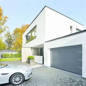 porte de garage isolee en acier a double ou triple rainure With double porte garage