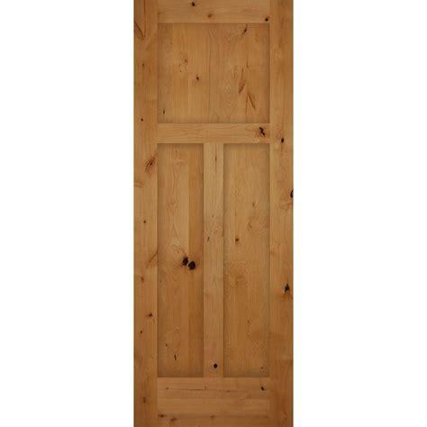 3 panel interior doors home depot 30 in x 80 in 3 panel craftsman solid knotty alder