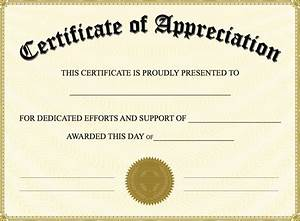 Free Certificate Template Certificate Of Appreciation Templates PDF Word Get Calendar Templates