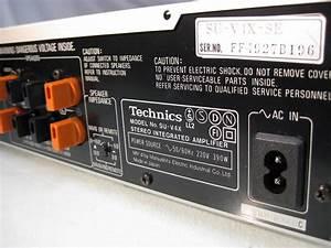 Technics Su-g90 Manual