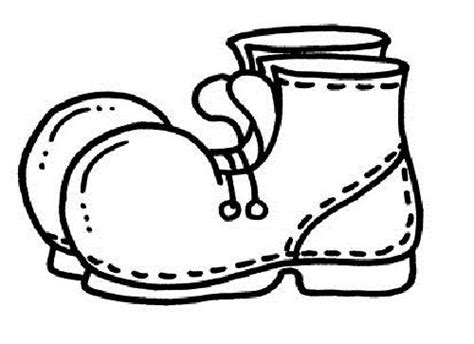 Printable Shoes Coloring Pages For Girl