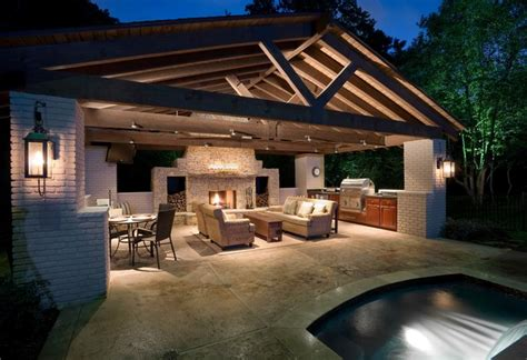 patio kitchens design 32 stunning patio outdoor lighting ideas with pictures 1427