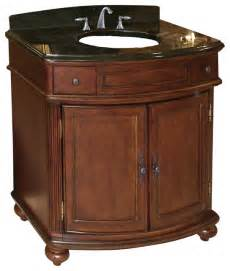arlington 36 quot vanity distressed cherry tan brown granite