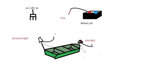 Wiring Boat Navigation Light Diagram by Jon Boat Navigation Light Wiring Diy Do It Yourself