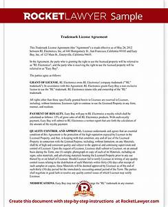 product license agreement template - trademark license agreement form create a template with