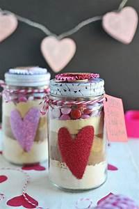 Geschenke Selbst Machen : kleine geschenke selber machen ideen f r verpackung backmischung im glas rezept kuchen im ~ Watch28wear.com Haus und Dekorationen
