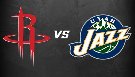 Soi keo NBA hôm nay: HOUSTON ROCKETS vs UTAH JAZZ