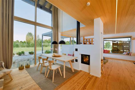 bauhaus inspired energy saving house  modern alpine charm idesignarch interior design
