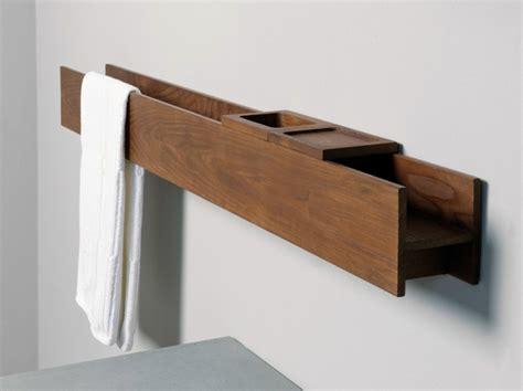 porte serviette mural ikea porte serviette bois mural de design moderne avec rangement salle de bains