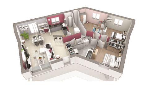 plan maison à étage 3 chambres maison contemporaine sous sol complet rêve d 39 ailleurs