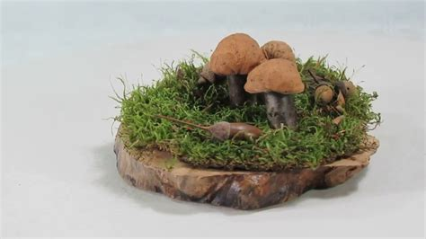 deko tipps pilze basteln aus naturmaterialien einfach