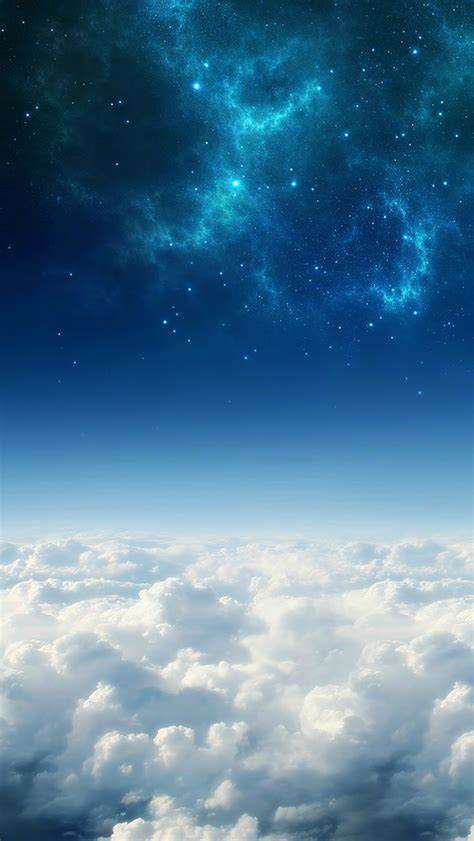 blue sky iphone wallpaper  wallpapersafari