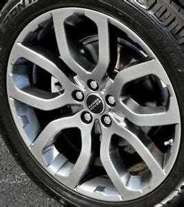 range rover evoque oem  style  wheels shadow chrome