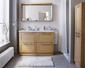 Meuble Salle De Bain Castorama : castorama meuble de salle de bains isle bois et et ~ Melissatoandfro.com Idées de Décoration