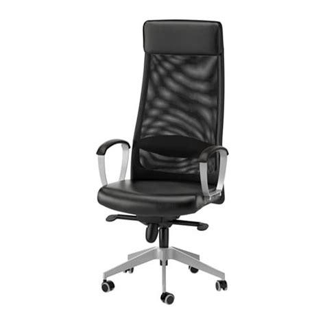 ikea chaises de bureau markus chaise pivotante glose noir ikea