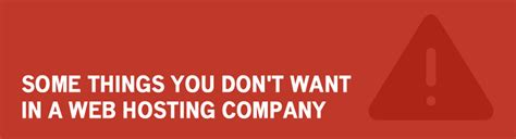 things you dont need on a resume things you don t want in a web hosting company review hell