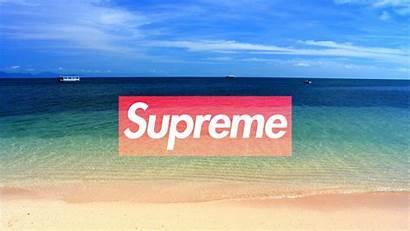 Supreme Wallpapers Cool Desktop Beach Pc Laptop