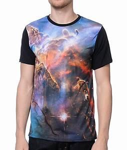 Imaginary Foundation Nebula Black Sublimated T-Shirt