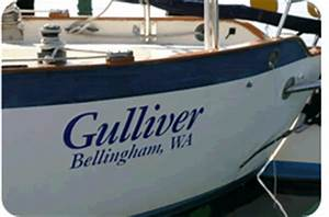 classic style boat names customvinylletteringnet With classic boat lettering